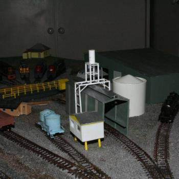 Overview of the loco depot