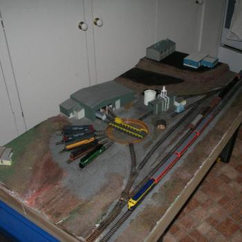 Geelong loco depot - basic scenery complete