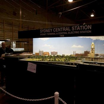 Sydney Central: N scale model of Sydney's Central Station circa 1958