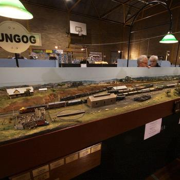 Dungog: NSWGR HO scale layout
