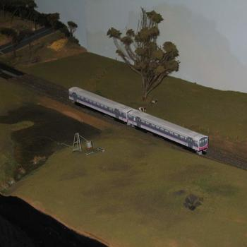 N scale Sprinter on the VNSC layout