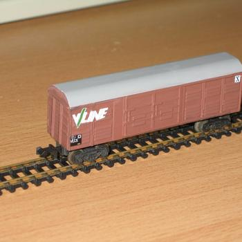 V/Line VLCX wagon, from the Fybren Models kit
