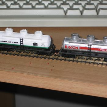 American tank cars waiting conversion into something more VR looking