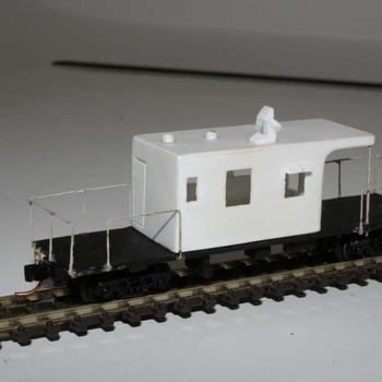 Scratch built ZMF/VVEY guards van