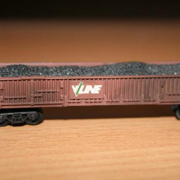 Weathered VOBX wagon, from a Fybren Models kit