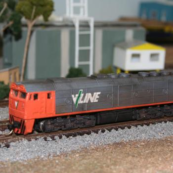 Aust-N-Rail G class, from the resin cast kit