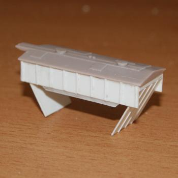 Additional hopper built in styrene for the CJ / VHCA cement hopper