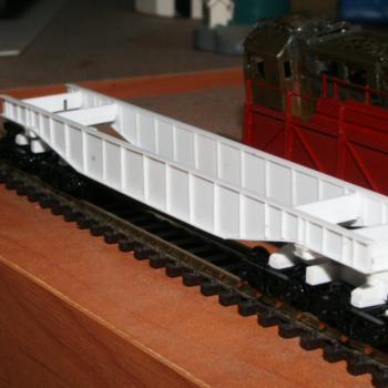 QS2 oversize load wagon awaiting painting