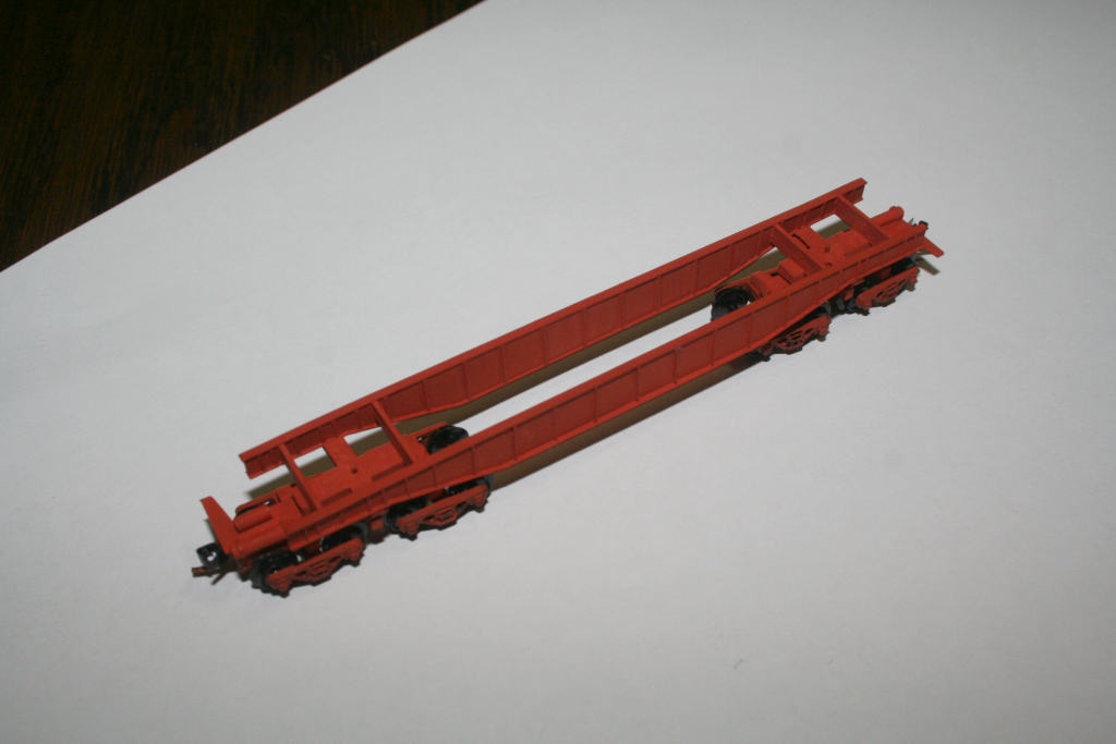 Completed QS2 oversize load flat wagon