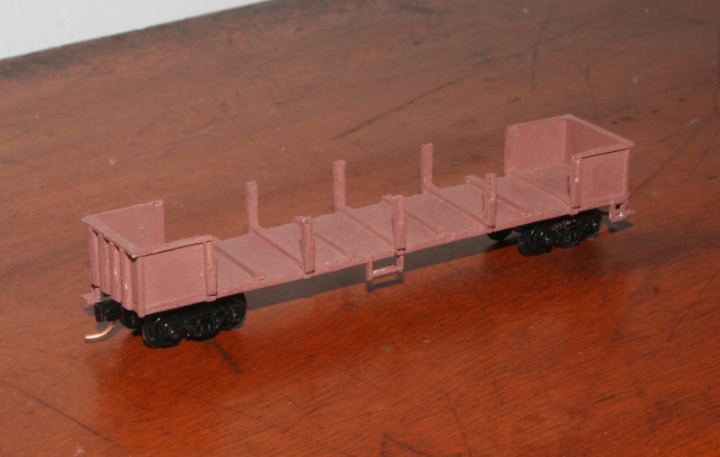 Cast ESX / VODX open wagon, based on ELX underframe