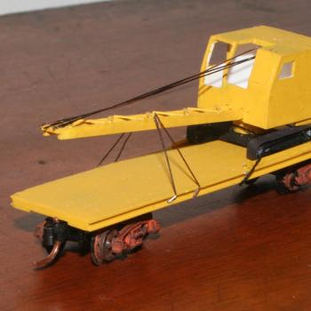QD2 dragline crane transporter, based on TT van underframe
