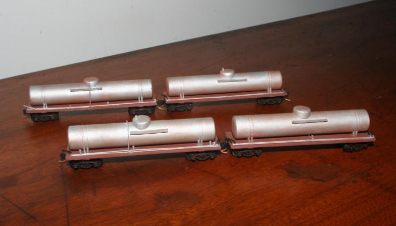 Completed WX weedex tank wagons