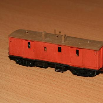 ZLP guards van completed from a Spirit Design timber kit