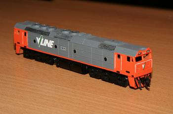 RTR Aust-N-Rail G class with coupler hoses fitted