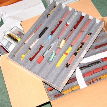 Boxes of rollingstock