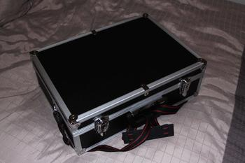 Cheap aluminium and plastic briefcase from Super Cheap Auto