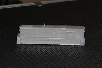 Aust-N-Rail T class body shell, driver's side view