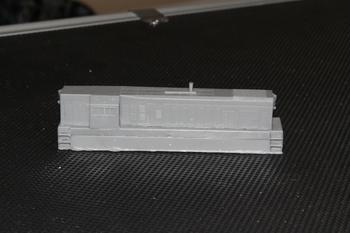 Aust-N-Rail T class body shell, firemans side view