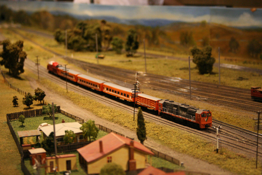 Up V/Line pass at Wallan