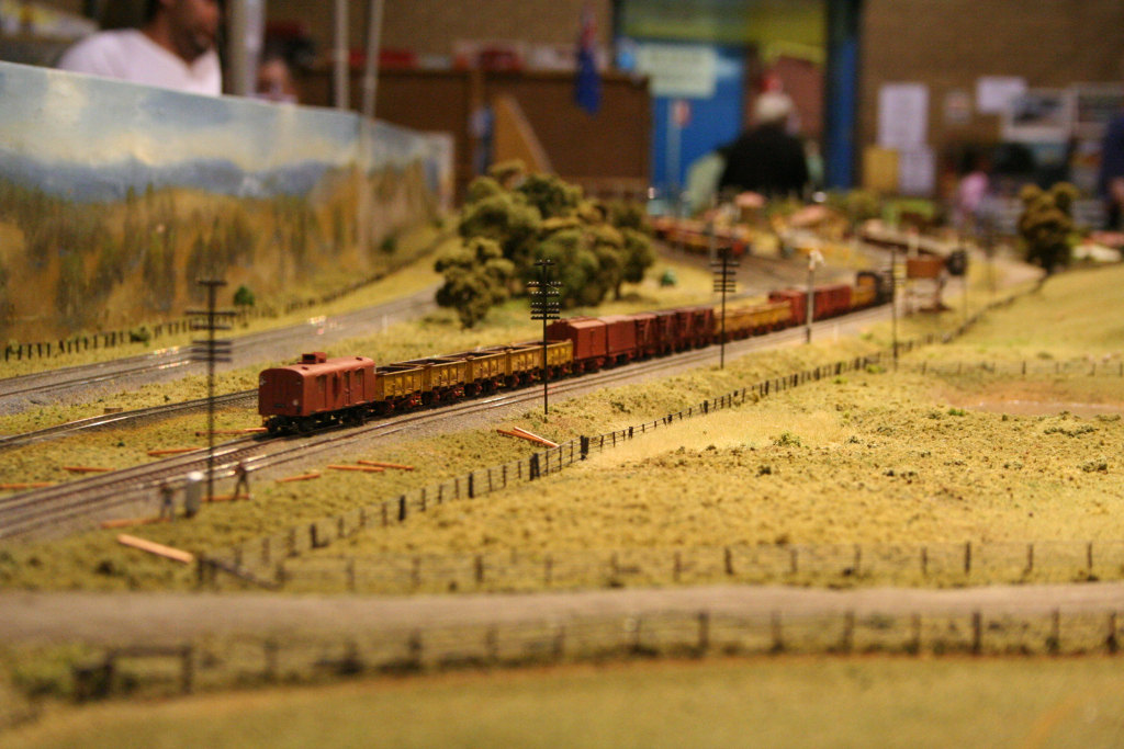 Tail end of an up freight on 'Wallan'